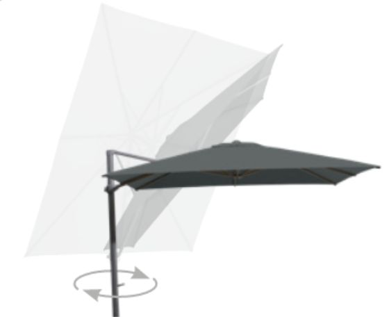 Parasol Siesta Ø350 4 Seasons Outdoor