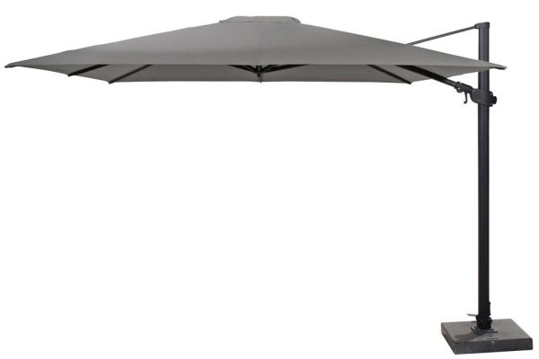 Parasol Siesta Premium 300x300 4 Seasons Outdoor Charcoal