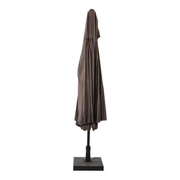 Outdoor Living Virgo stokparasol Ø400 cm - Taupe