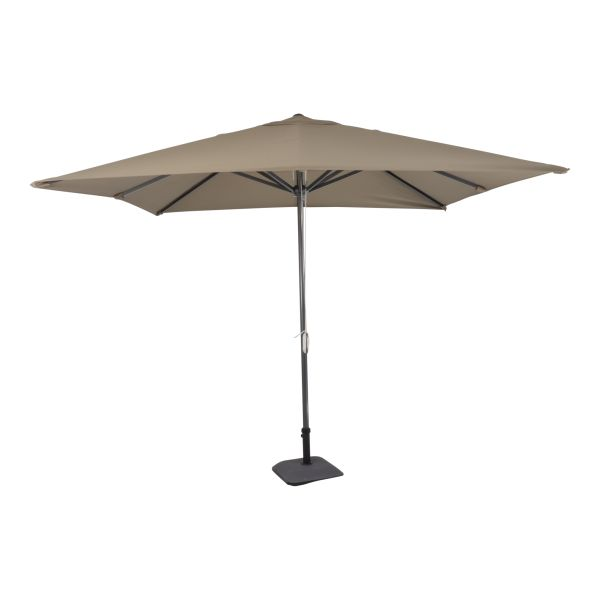 Outdoor Living Virgo stokparasol 300x300 cm - Taupe