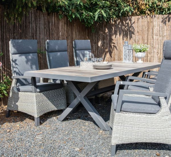Outdoor Living tuinset diningset Prato Brick