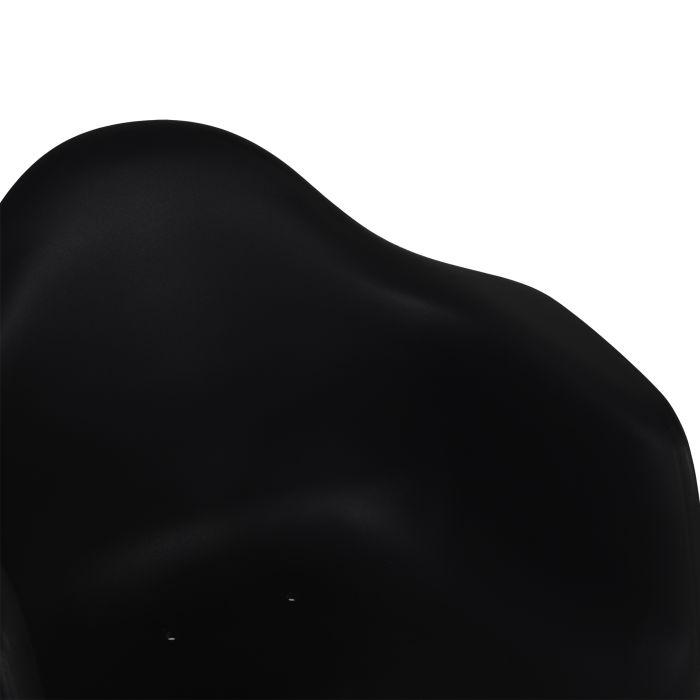 Tuinstoel kuipstoel Montreux zwart