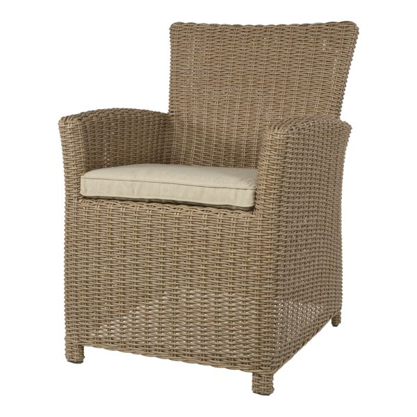 Outdoor Living tuinstoel Tropez Straw set