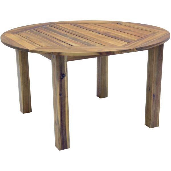 Outdoor Living tuintafel Serra acacia hout Ø140cm
