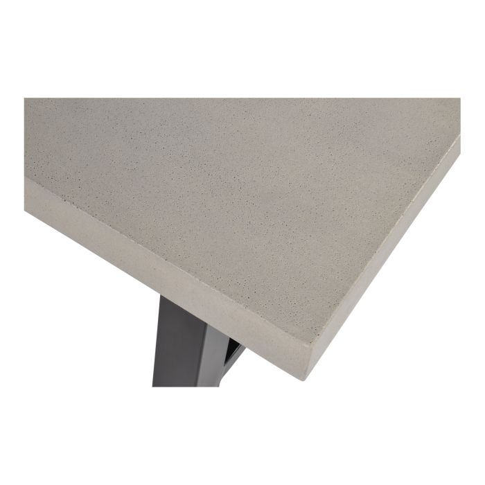 Tuintafel Toro met betonlook blad