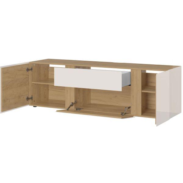 Tv-meubel Mesa eiken cashmere 180 cm - Germania