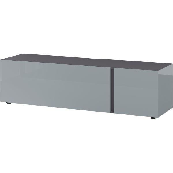 Tv-meubel Mesa zilvergrijs grafiet - Germania