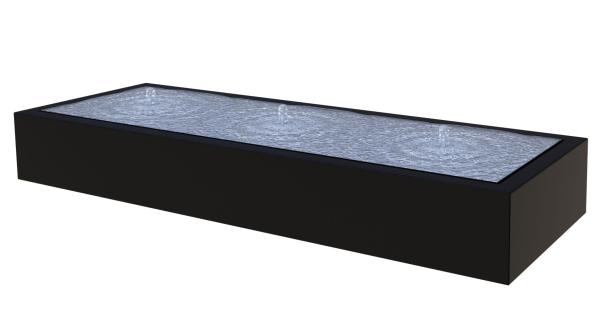 Watertafel rechthoekig aluminium